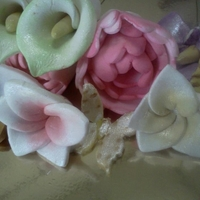 Various Sugar Flowers