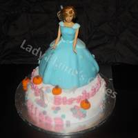 Cinderella Cake For A First Birthday Cinderella cake for a first birthday