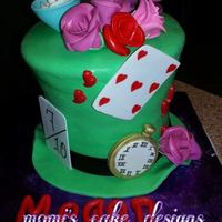Was A Lot Of Fun Work With This Cake Alice In Wonderland was a lot of fun work with this cake, Alice in wonderland!!