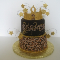 Cheetah This was for a divalicious little 2 year old! She loved it :)