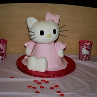 Hello Kitty I made this for my little girl for her 4th birthday :)