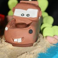 I Made This Little Mater For A Cute 2 Yr Old All Edible   *I made this little Mater for a cute 2 yr old. All edible.