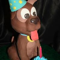 Birthday Doggie *I made this dog for a local dog rescue program. I was very pleased with the outcome. :) Enjoy