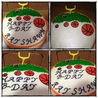 Football Basketball Bday Cake