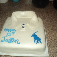 Polo Shirt Bday Cake
