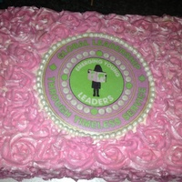 Emerging Young Leaders Cakeall Buttercream Tfl Emerging young leaders cake...all buttercream tfl