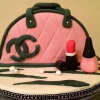Coco Chanel Purse Cake Inspired by Andrea's Sweet Cakes