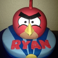Angry Birds Inspired by Andrea's Sweet Cakes
