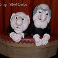 The Muppets 3-D Cake Statler And Waldorf