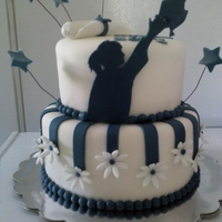 Girl Grad Cake Took the bottom ideal from a cake seen while searching thank you .......