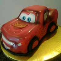 Lightning Mcqueen Adapted from Disney's Cars