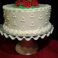 Simple Cake If it looks familiar.... well, check your Wilton Course 1 Certificate... :D
