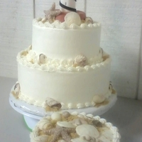 Cape Hatteras Lighthouse Wedding Cake