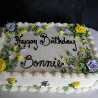 Happy birthday bonnie cake gallery on cake central happy birthday bonnie publicscrutiny Gallery