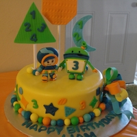 Team Umizoomi For My sons 3rd Birthday.
