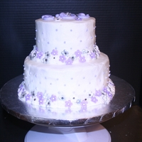 Simple Wedding Shower Cake For A Friend Simple wedding shower cake for a friend