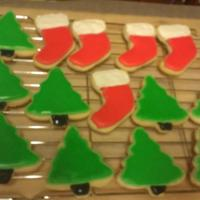 Christmas Cookies   my first time using royal icing