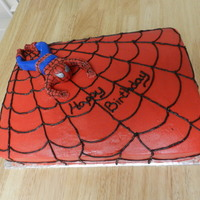 Spiderman Cake This Was A Surprise Cake For A Friend Therefore I Couldnt Put His Name On It He Owns A Comic Book Store And Loves Spide Spiderman cake!!! This was a surprise cake for a friend, therefore I couldn't put his name on it. He owns a comic book store and loves...