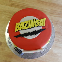 Big Bang Theory!!! I love this show and really enjoyed making this cake. What a great way to celebrate 21!!!