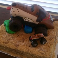 Monster Mutt Truck This was for my two boys they like monster jam truck everything is cake