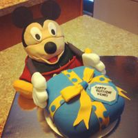 Mickey Mouse Birthday Cake   I'm pretty proud of this cake.