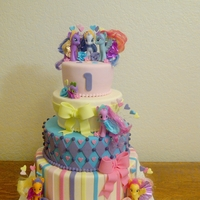 My Little Pony Seen this cake done a hundred time. Here is my attempt. Thanks for looking!