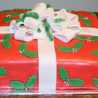 French Vanilla W Raspberry Filling Vanilla Butter Cream Icing Cover With Fondant All Edible French vanilla w/ raspberry filling, vanilla butter-cream icing cover with fondant ...all edible.