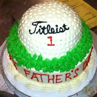 Fathers Day Golf Ball Fathers day Golf Ball Cake