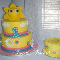 "Sun Cake Amp Smash Cake Theme Wasyou Are My Sunshine Sun cake & smash cake. Theme was""You are my sunshine."""
