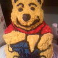 Winnie Pooh I made this for the Spca...I raffled it off for .50 cents a ticket and raised $400.00