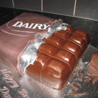 Dairy Milk Chocolate Bar Cake