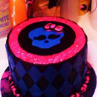 Monster High My 8 year old and I made this for my 7 year olds birthday, it was such fun to do. We designed it and made it together..the little bow was...