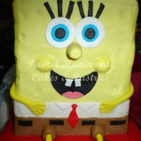 Spongebob I saw a tutorial for this cake on the internet and decided to make a wonderful cake for a special client :) The celebrant loved it so much...