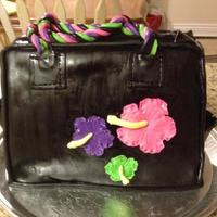 The Birthday Person Told Me Her Favourite Colours And Flowers And Told Me She Was Obsessed With Purses So This Is What I Came Up With The birthday person told me her favourite colours and flowers and told me she was obsessed with purses so this is what I came up with.