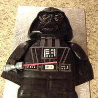 Lego Darth Vader I Made For My Sons Birthday Lego Darth Vader I made for my son's birthday.