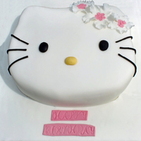 Hello Kitty Cake spong cake with butter cream TFL