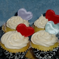 Cup Cakes Cup cakes for children for Valentines Day.