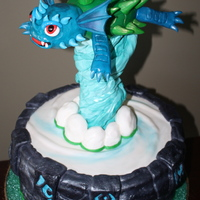 "A Wild Cake Indeed This Is Warnado And His Portal Of Power The Round Portal Is 14 Inches Round The Cake Stand About 35 Feet Hi  A wild cake indeed! This is ""Warnado"" and his portal of power!! The round portal is 14 inches round . . . the cake stand about 3...."