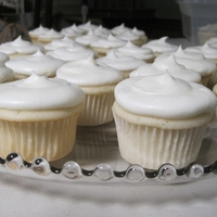Wedding Cupcakes Plain white wedding cupcakes