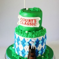 Courts Classic Golf Cake