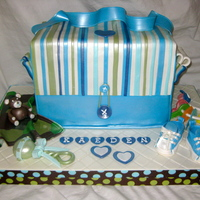Diaper Bag With Accessories!