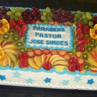 A Fruit Cake For 120 People.