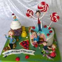 "Cloudy With A Chance Of Meatballs Hi, My children and I love the cartoon Cloudy With a Chance of Meatballs, so when Scandinavian Cake Show had a catagory named my ""..."