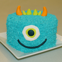 Monster Cake I saw one like this last year and loved it. I had to try it this year with some minor changes.