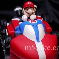 Mario Kart Cake Make this for my son's birthday. A lot of work and lessons learn but at the end a very happy boy.