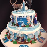 'frozen' Birthday Cake