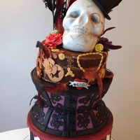 Steam Punk Burlesque Cake