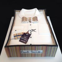 Paul Smith Shirt Cake