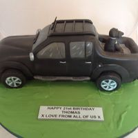 Nissan Pick Up Truck Cake.