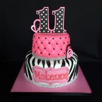 Girly Girl Cake Fondant Over Buttercream Gumpaste Numbers I Used Glitter On Name And Rhinestone Ribbon Borders Because She Wanted It Spa Girly girl cake, fondant over buttercream. Gumpaste numbers. I used glitter on name, and rhinestone ribbon borders because she wanted it...